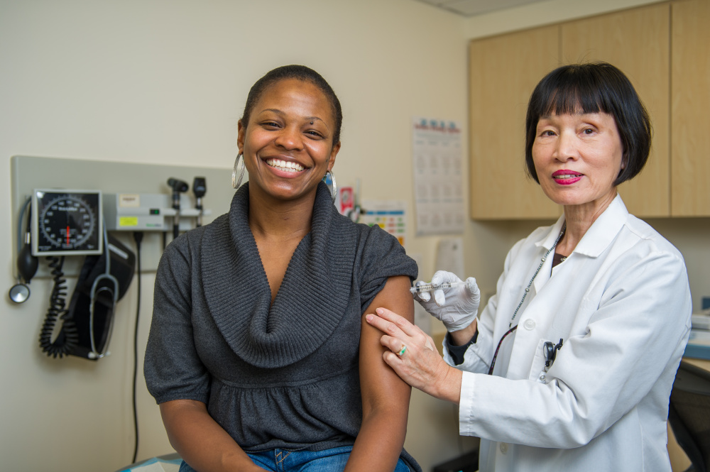 The best way to prevent the flu is by getting a flu shot.