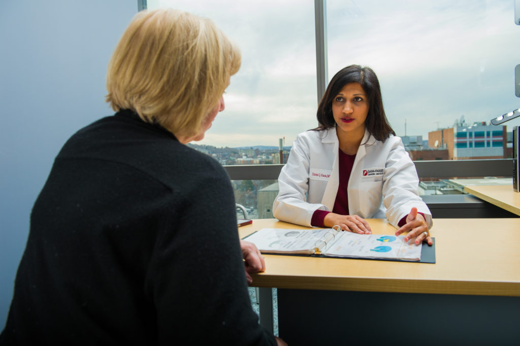 Huma Q. Rana, MD, Clinical Director of Cancer Genetics and Prevention at Dana-Farber.