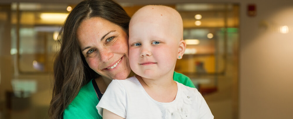 A pediatric leukemia patient.