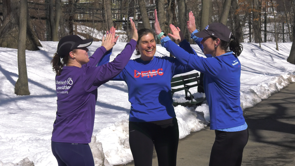 Janeway and her good friends Tara Beardsley and Sarah Waywell Timm have been training together throughout the winter.