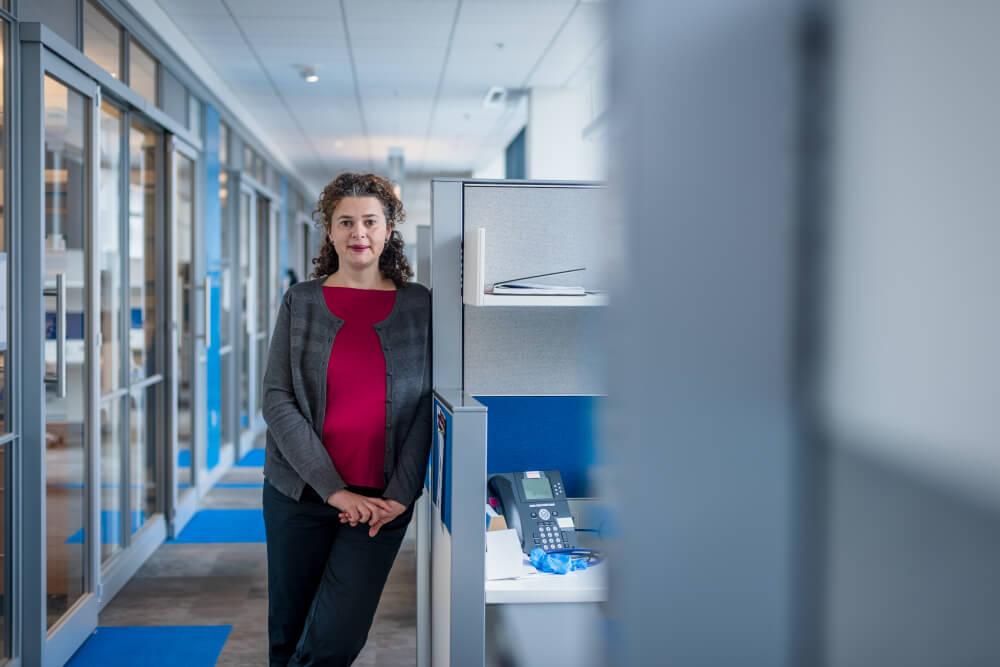 Milka Kostic, PhD, Program Director of the Chemical Biology Program at Dana-Farber Cancer Institute.