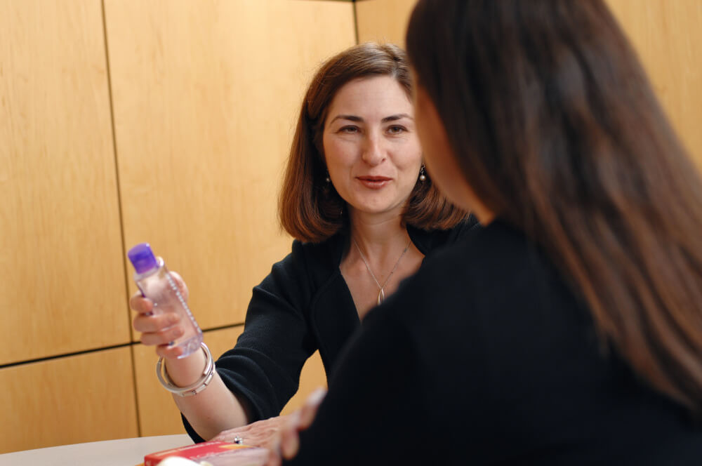 Sharon Bober, PhD, is a clinical psychologist and director of the Sexual Health Program at Dana-Farber.