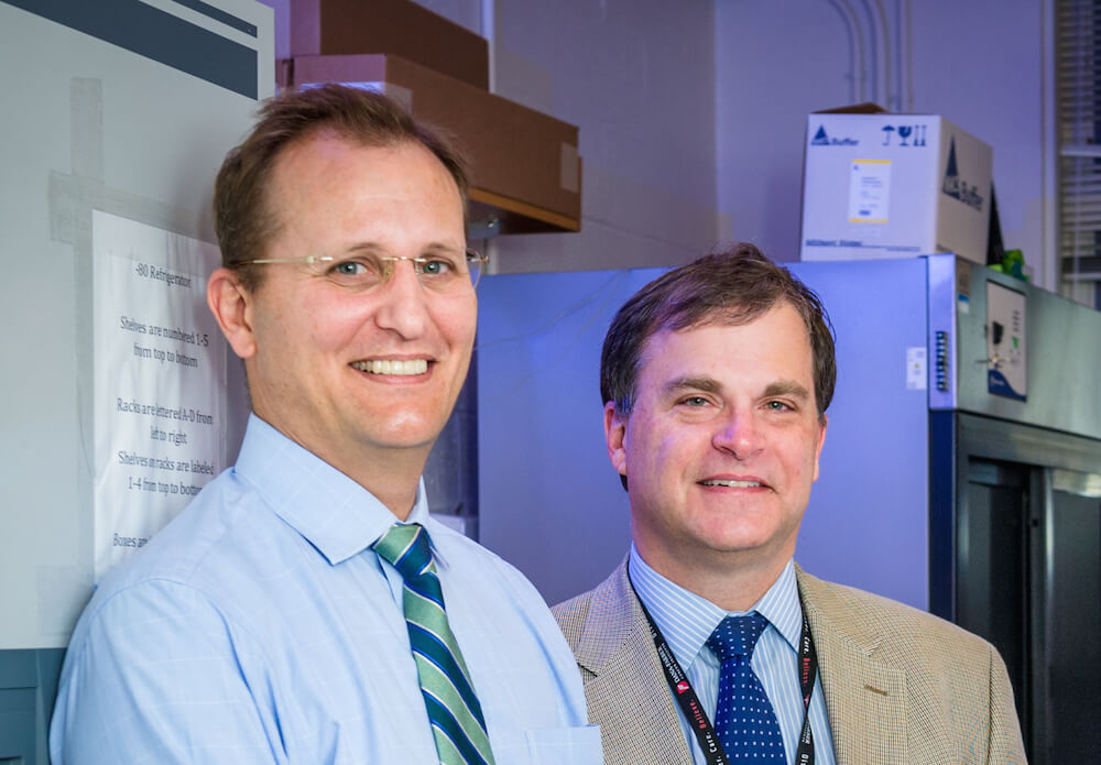 Scott Rodig, MD, PhD, and F. Stephen Hodi, MD.