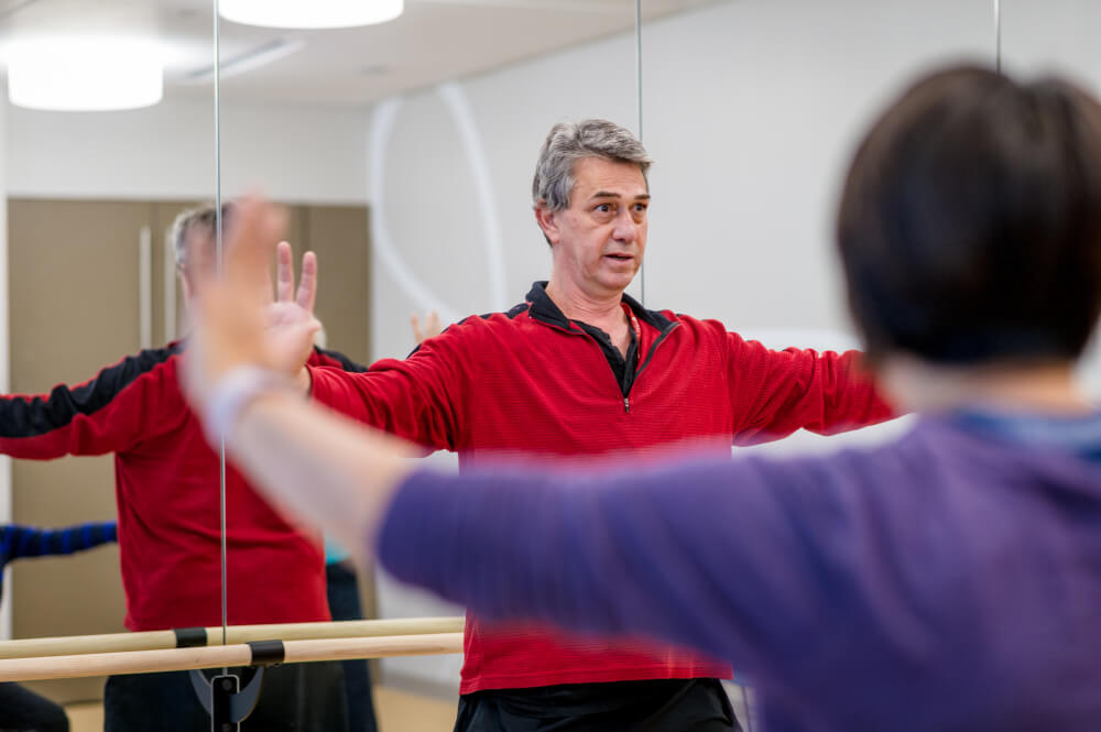 Ramel Rones teaches tai chi and qigong at Dana-Farber's Zakim Center.