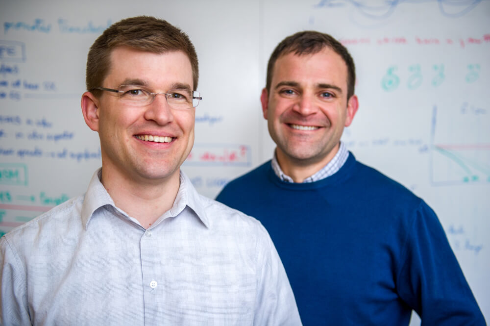 Andrew Lane, MD, PhD, and David M. Weinstock, MD.