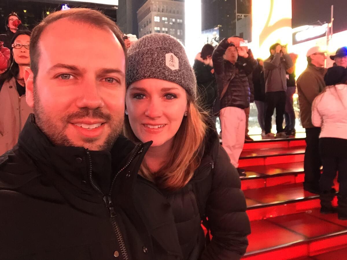O'Hara and her husband, Jason.