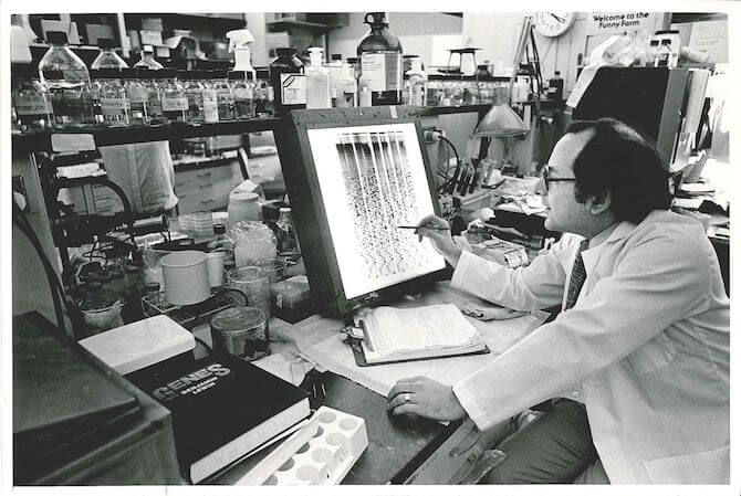 Orkin in 1985. (BCH Archives)